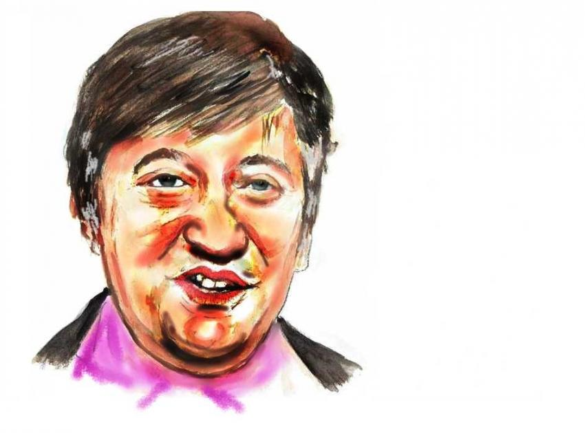 Stephen Fry by brainfree